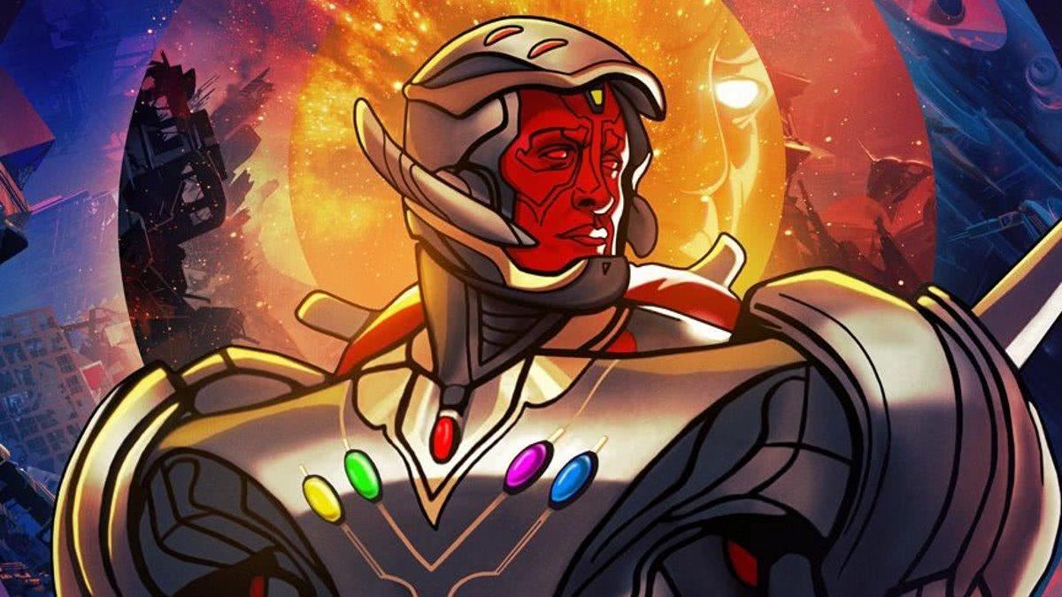 Ultron Visão em What If... (Divulgação)