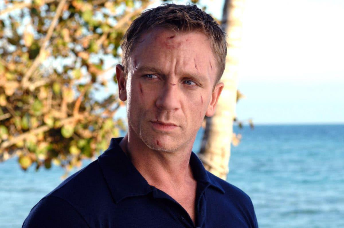 Daniel Craig como James Bond em Cassino Royale (Reprodução)