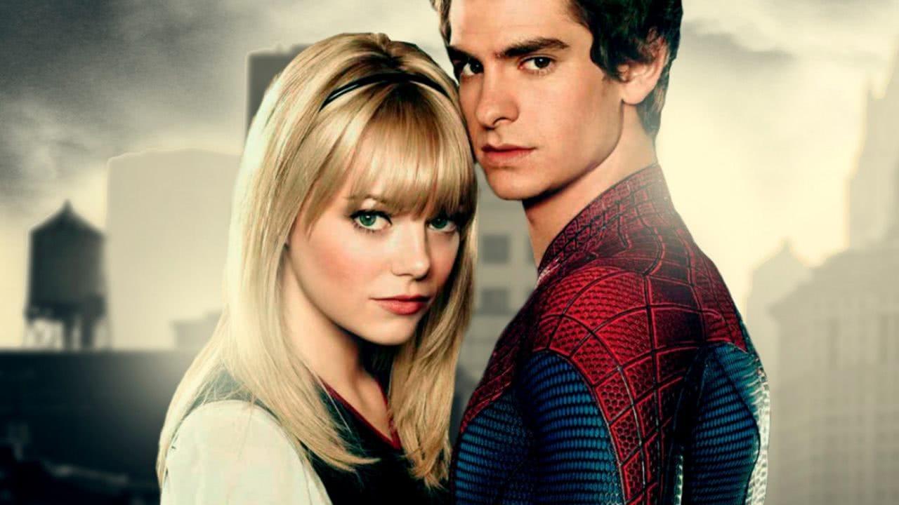Emma Watson e Andrew Garfield em O Espetacular Homem-Aranha (Divulgação / Sony)