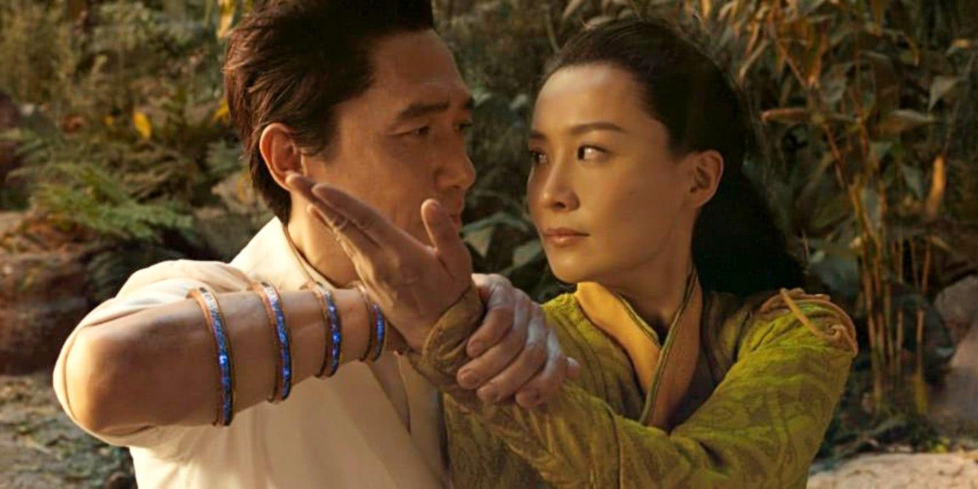 Tony Leung e Fala Chen em Shang-Chi e a Lenda dos Dez Anéis (Reprodução / Marvel)
