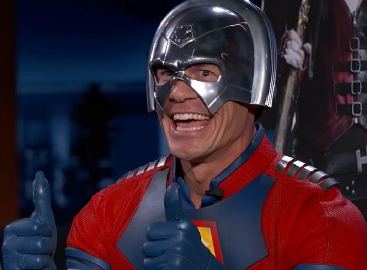 John Cena como Pacificador (Divulgação)