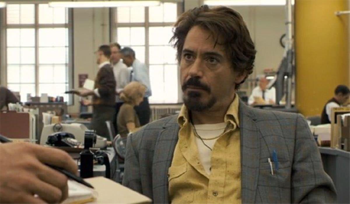 Robert Downey Jr. em Zodíaco (Reprodução)