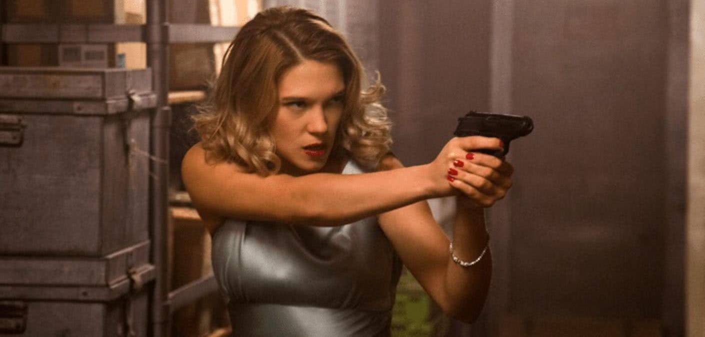 Léa Seydoux como Madeleine Swann na franquia 007 (Reprodução)