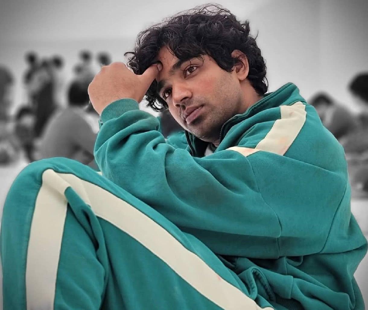 Anupam Tripathi em cena de Round 6 (Divulgação)
